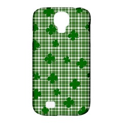 St  Patrick s Day Pattern Samsung Galaxy S4 Classic Hardshell Case (pc+silicone) by Valentinaart