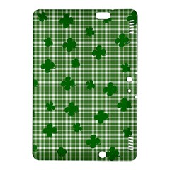 St  Patrick s Day Pattern Kindle Fire Hdx 8 9  Hardshell Case by Valentinaart