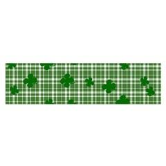 St  Patrick s Day Pattern Satin Scarf (oblong) by Valentinaart