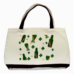 St  Patricks Day  Basic Tote Bag by Valentinaart