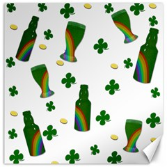 St  Patricks Day  Canvas 16  X 16   by Valentinaart