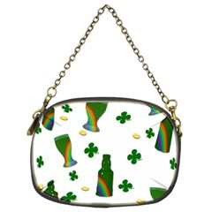 St  Patricks Day  Chain Purses (two Sides)  by Valentinaart