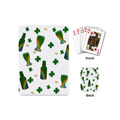 St  Patricks Day  Playing Cards (mini)  by Valentinaart