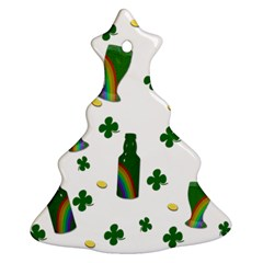 St  Patricks Day  Christmas Tree Ornament (two Sides) by Valentinaart