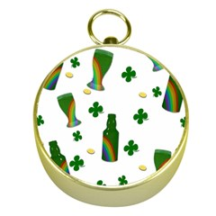 St  Patricks Day  Gold Compasses by Valentinaart
