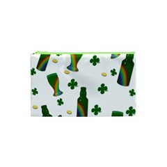 St  Patricks Day  Cosmetic Bag (xs) by Valentinaart