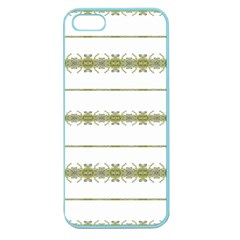 Ethnic Floral Stripes Apple Seamless Iphone 5 Case (color) by dflcprints