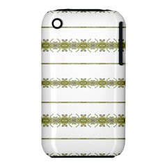 Ethnic Floral Stripes Iphone 3s/3gs by dflcprints