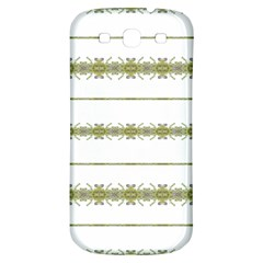 Ethnic Floral Stripes Samsung Galaxy S3 S Iii Classic Hardshell Back Case by dflcprints
