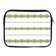 Ethnic Floral Stripes Apple Ipad 2/3/4 Zipper Cases by dflcprints