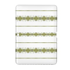 Ethnic Floral Stripes Samsung Galaxy Tab 2 (10 1 ) P5100 Hardshell Case  by dflcprints