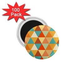 Triangles Pattern  1 75  Magnets (100 Pack)  by TastefulDesigns