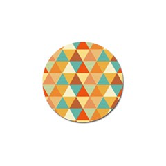 Triangles Pattern  Golf Ball Marker (4 Pack) by TastefulDesigns