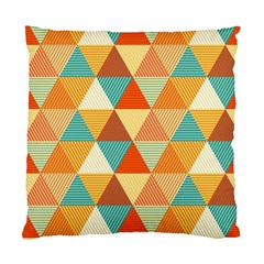 Triangles Pattern  Standard Cushion Case (two Sides) by TastefulDesigns