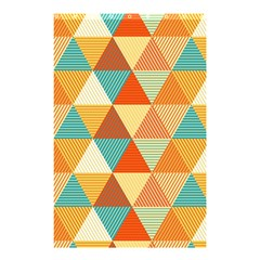 Triangles Pattern  Shower Curtain 48  X 72  (small)  by TastefulDesigns