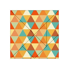 Triangles Pattern  Acrylic Tangram Puzzle (4  X 4 ) by TastefulDesigns