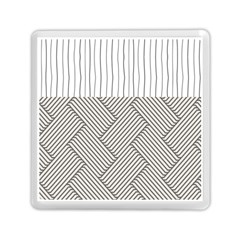 Lines And Stripes Patterns Memory Card Reader (square)  by TastefulDesigns