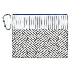 Lines And Stripes Patterns Canvas Cosmetic Bag (xxl) by TastefulDesigns