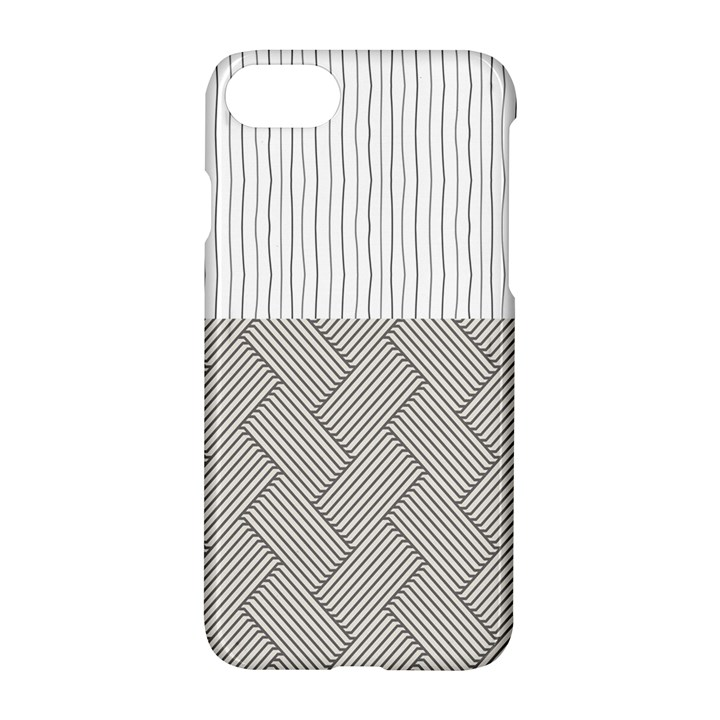 Lines and stripes patterns Apple iPhone 7 Hardshell Case