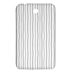 Hand Drawn Lines Pattern Samsung Galaxy Tab 3 (7 ) P3200 Hardshell Case  by TastefulDesigns