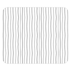 Hand Drawn Lines Pattern Double Sided Flano Blanket (small)  by TastefulDesigns