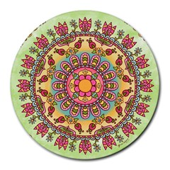 Happy Garden Mandala by StraightToThe6th