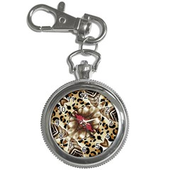 Animal Tissue And Flowers Key Chain Watches