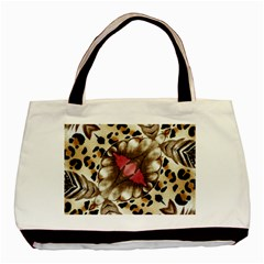 Animal Tissue And Flowers Basic Tote Bag by Amaryn4rt