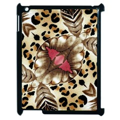 Animal Tissue And Flowers Apple Ipad 2 Case (black) by Amaryn4rt