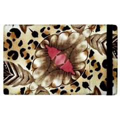 Animal Tissue And Flowers Apple Ipad 3/4 Flip Case by Amaryn4rt