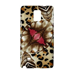 Animal Tissue And Flowers Samsung Galaxy Note 4 Hardshell Case by Amaryn4rt