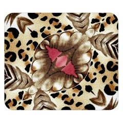 Animal Tissue And Flowers Double Sided Flano Blanket (small)  by Amaryn4rt