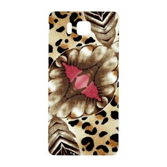 Animal Tissue And Flowers Samsung Galaxy Alpha Hardshell Back Case by Amaryn4rt