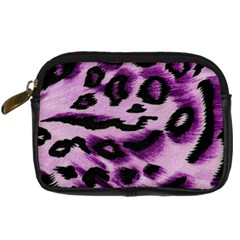 Background Fabric Animal Motifs Lilac Digital Camera Cases by Amaryn4rt
