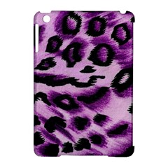 Background Fabric Animal Motifs Lilac Apple Ipad Mini Hardshell Case (compatible With Smart Cover) by Amaryn4rt