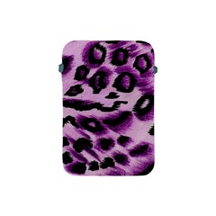 Background Fabric Animal Motifs Lilac Apple Ipad Mini Protective Soft Cases by Amaryn4rt