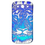 Background Fabric With Tiger Head Pattern Samsung Galaxy S3 S III Classic Hardshell Back Case Front
