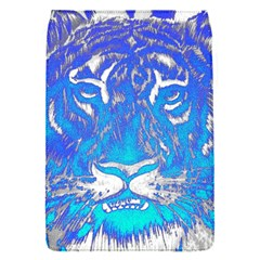 Background Fabric With Tiger Head Pattern Flap Covers (s)  by Amaryn4rt