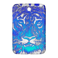 Background Fabric With Tiger Head Pattern Samsung Galaxy Note 8 0 N5100 Hardshell Case  by Amaryn4rt