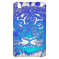 Background Fabric With Tiger Head Pattern Samsung Galaxy Tab Pro 8 4 Hardshell Case by Amaryn4rt