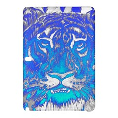 Background Fabric With Tiger Head Pattern Samsung Galaxy Tab Pro 12 2 Hardshell Case by Amaryn4rt