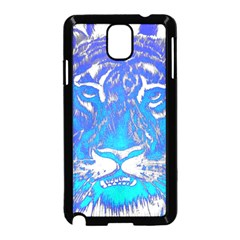 Background Fabric With Tiger Head Pattern Samsung Galaxy Note 3 Neo Hardshell Case (black) by Amaryn4rt