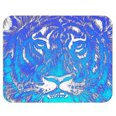 Background Fabric With Tiger Head Pattern Double Sided Flano Blanket (medium)  by Amaryn4rt