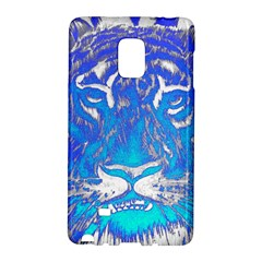 Background Fabric With Tiger Head Pattern Galaxy Note Edge
