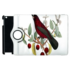 Bird On Branch Illustration Apple Ipad 3/4 Flip 360 Case by Amaryn4rt