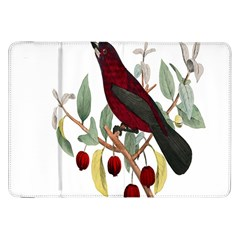 Bird On Branch Illustration Samsung Galaxy Tab 8 9  P7300 Flip Case by Amaryn4rt