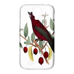 Bird On Branch Illustration Samsung Galaxy S4 Classic Hardshell Case (pc+silicone) by Amaryn4rt