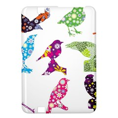 Birds Colorful Floral Funky Kindle Fire Hd 8 9  by Amaryn4rt
