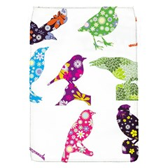 Birds Colorful Floral Funky Flap Covers (s)  by Amaryn4rt