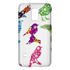 Birds Colorful Floral Funky Galaxy S5 Mini by Amaryn4rt